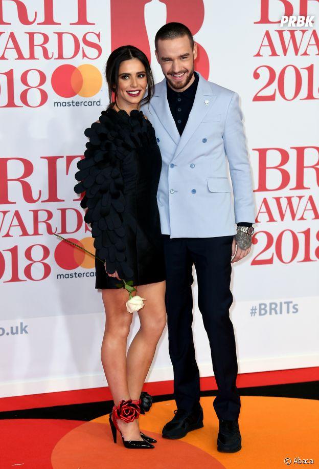 Liam Payne et Cheryl Cole aux BRIT Awards 2018 le 21 février à Londres