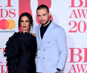 Liam Payne et Cheryl Cole posent aux BRIT Awards 2018 le 21 février à Londres