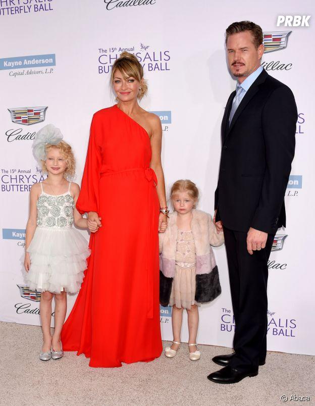 Eric Dane, son ex-femme et leurs deux filles