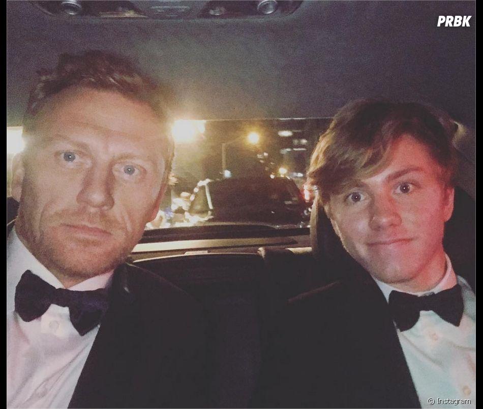 Kevin McKidd (Grey's Anatomy) et son fils Joseph