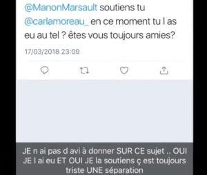 Les Marseillais Australia : Manon Marsault réagit à la rupture de Carla et Kevin et soutient son amie !