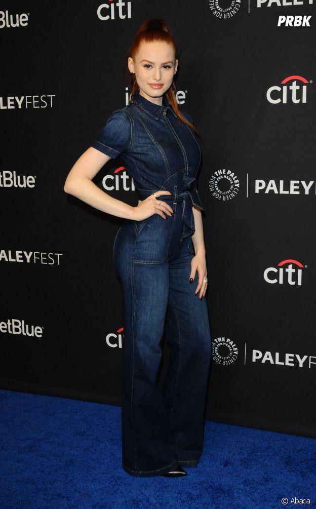 Madelaine Petsch au panel de Riverdale lors du PaleyFest le 25 mars 2017 à Los Angeles