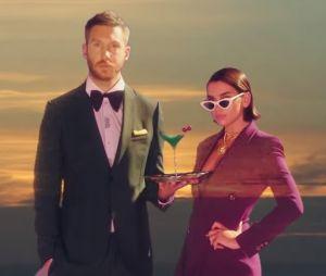 """Clip """"One Kiss"""" : Calvin Harris et Dua Lipa passent en mode rétro pour l'été"""