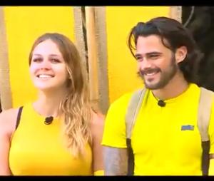 Moundir et les apprentis aventuriers 3 : Camille et Benjamin Samat forment l'équipe jaune