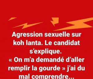 Pascal (Koh Lanta All Stars) : sa blague maladroite sur l'affaire de présumée agression sexuelle