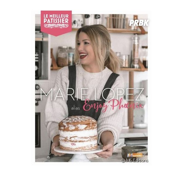 8ac3c47a08b6dc EnjoyPhoenix gagnante du Meilleur Pâtissier sur M6   la Youtubeuse sort son  premier livre de recettes