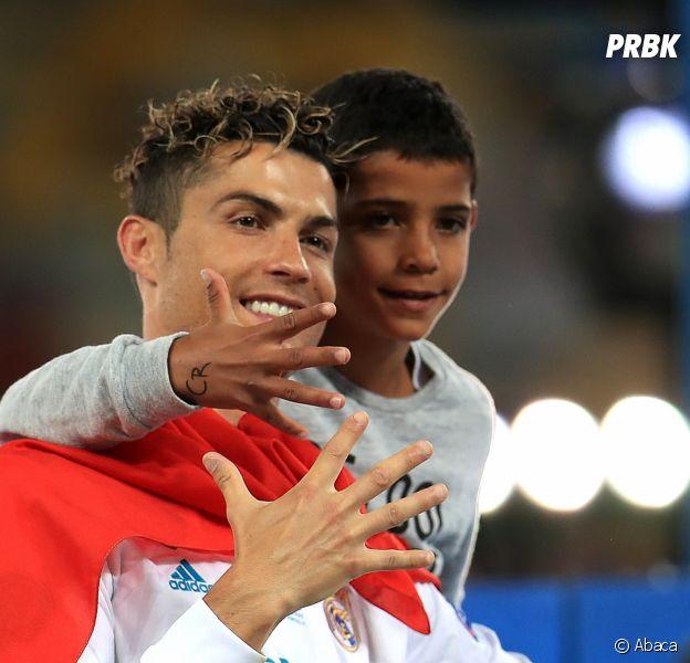 Cristiano Ronaldo : son fils déjà prêt à prendre la relève ! ️