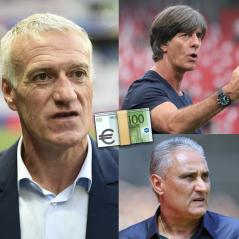 Coupe du Monde 2018 : Didier Deschamps, Joachim Löw... Les salaires des sélectionneurs révélés ?
