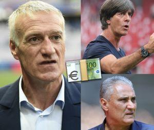 Coupe du Monde 2018 : Didier Deschamps, Joachim Löw... combien gagnent les sélectionneurs ?
