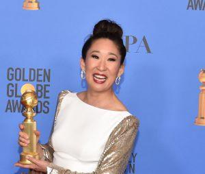 Sandra Oh a remporté un Golden Globe en 2019 pour Killing Eve