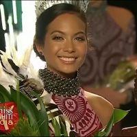 Vaimalama Chaves élue Miss Tahiti 2018 et déjà favorite pour Miss France 2019