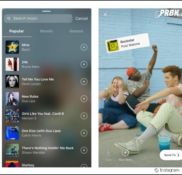 Instagram : la musique débarque dans les stories