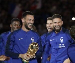 Hugo Lloris, Olivier Giroud et tous les Bleus fêtent leur sacre au Stade de France le 9 septembre 2018