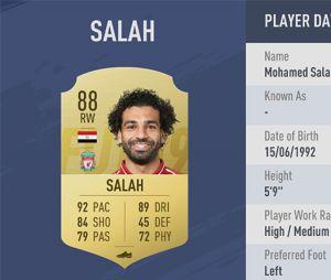 FIFA 19 : la note de Mohamed Salah énerve certains fans de l'attaquant