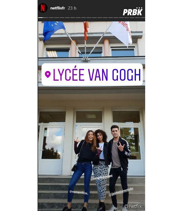Elite : trois acteurs débarquent dans un lycée français
