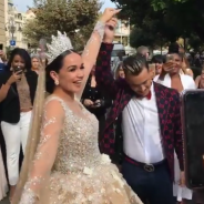 Jazz et Laurent mariés en France devant Jesta, Benoît, Martika Caringella et Benjamin Samat