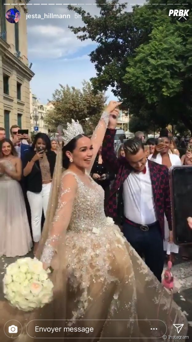 Jazz (La Villa, la bataille des couples) et Laurent se marient en France