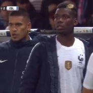 Paul Pogba en mode grand frère protecteur avec Kylian Mbappé contre l'Islande : pas touche à Kyky !