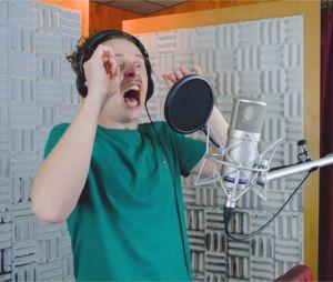Norman participe au doublage d'un jeu vidéo