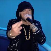 """Eminem fait le show avec """"Venom"""" au sommet de l'Empire State Building 🎤"""