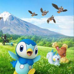 Pokémon Go : la 4ème génération est dispo, invasion de Tiplouf, Ouisticram, Laporeille...
