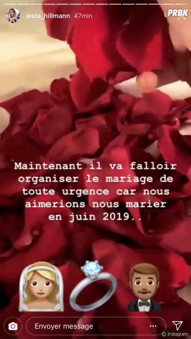 Jesta (La Villa, la bataille des couples) et Benoît : le mariage prévu en juin 2019 ?