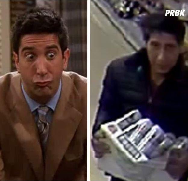 David Schwimmer a été confondu avec un voleur