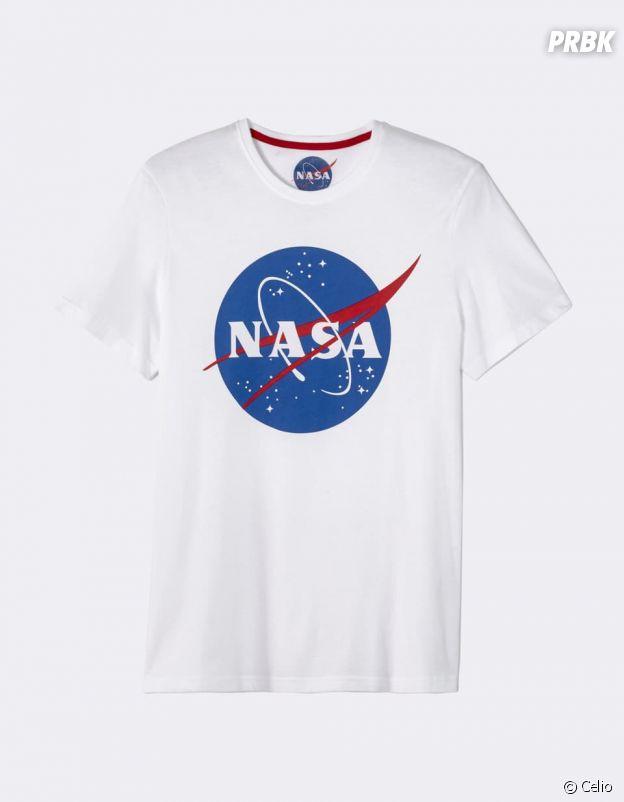 Pour fêter ses 60 ans d'exploration spatiale, la Nasa a notamment collaboré avec Celio.