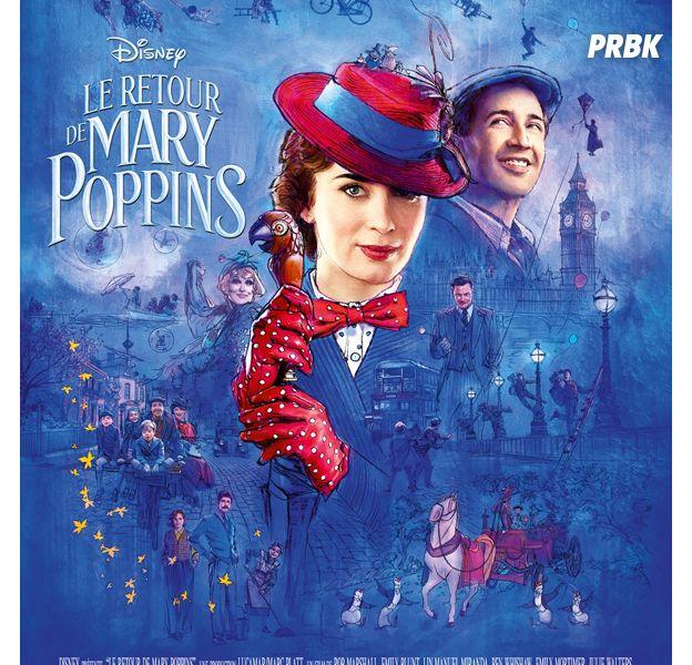 """Le retour de Mary Poppins : """"supercalifragilisticexpidélilicieux"""" absent du film, mais pourquoi ?"""