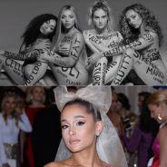 """Les Little Mix clashées pour leur clip """"Strip"""" : Ariana Grande vole au secours du groupe"""