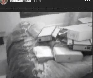 Booba cambriolé : le rappeur dévoile des images de son appartement saccagé