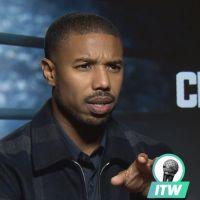 """Michael B Jordan : """"J'ai physiquement plus souffert sur Creed 2 que sur Black Panther"""" interview"""