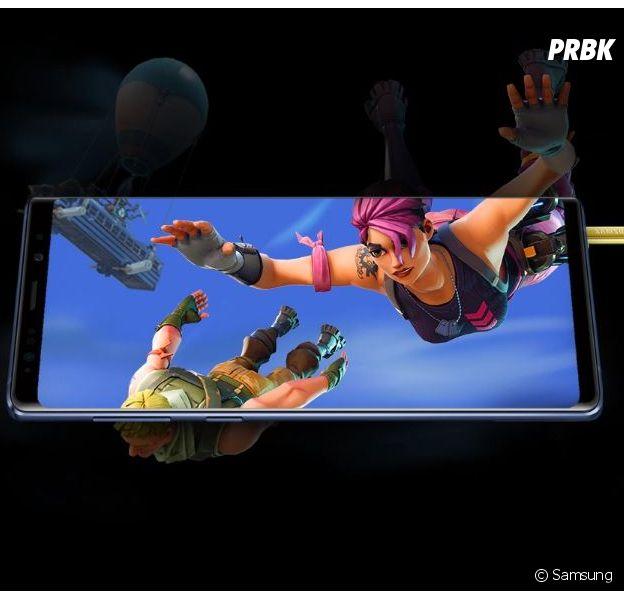 Le Samsung Galaxy Note 9 était déjà idéal pour jouer à Fortnite et aux jeux vidéo en général.