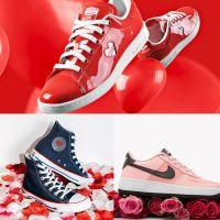 Saint-Valentin : les 7 paires de sneakers 100% love à shopper