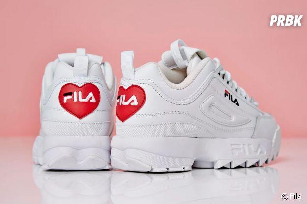 Fila révèle ses Disruptor pour la Saint-Valentin.