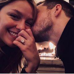Melissa Benoist et Chris Wood : les acteurs de Supergirl sont fiancés !