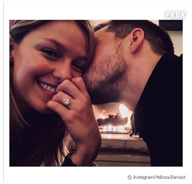 Supergirl : Melissa Benoist (Kara) et Chris Wood (Mon-El) annoncent leurs fiançailles
