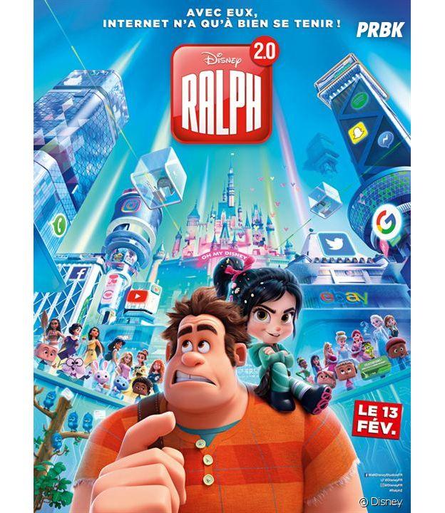Ralph 2.0 l'affiche du film.