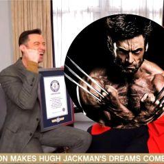 Hugh Jackman dans le Livre des Records grâce à Wolverine, l'acteur réalise son rêve