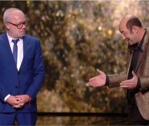 Olivier Baroux reçoit le prix du public pour Les Tuche 3, retrouvailles émouvantes avec Kad Merad et son père lors des César 2019
