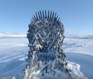 """Game of Thrones saison 8 : six trônes cachés dans le monde, voici le """"Trône du nord"""""""