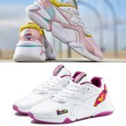 Barbie x Puma Nova : les sneakers revisitées en deux versions girly pour les 60 ans de la poupée