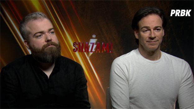 David F. Sandberg (réalisateur) et Peter Safran (producteur)