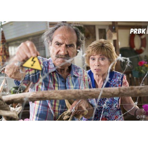 Scènes de Ménages : Marion Game (Huguette) victime d'Alzheimer ?Gérard Hernandez (Raymond) dément les rumeurs