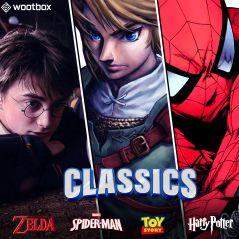 Harry Potter, Toy Story, Spider-Man... craquez pour la Wootbox Classics