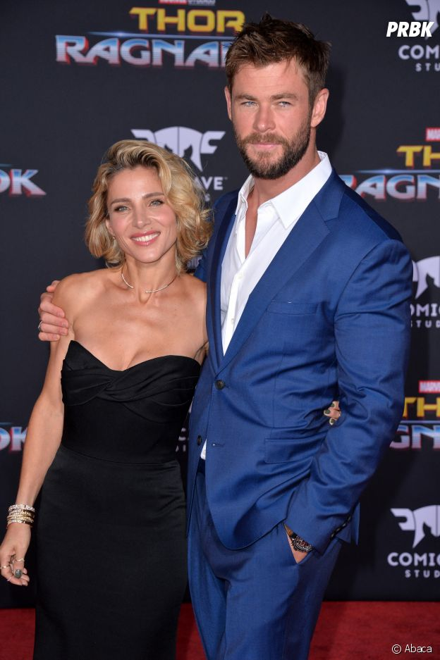 Chris Hemsworth et sa femme Elsa Pataky