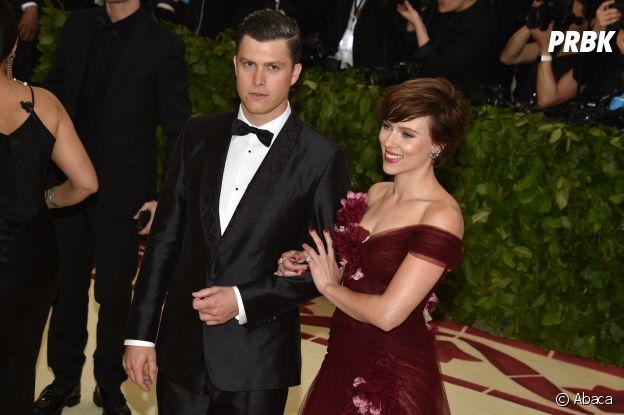Scarlett Johansson et son petit ami Colin Jost