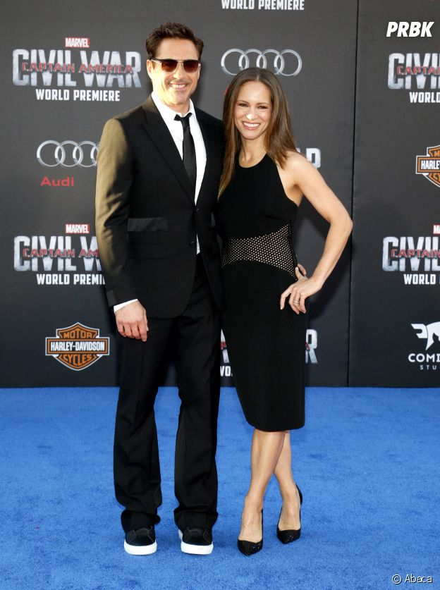 Robert Downey Jr et sa femme Susan