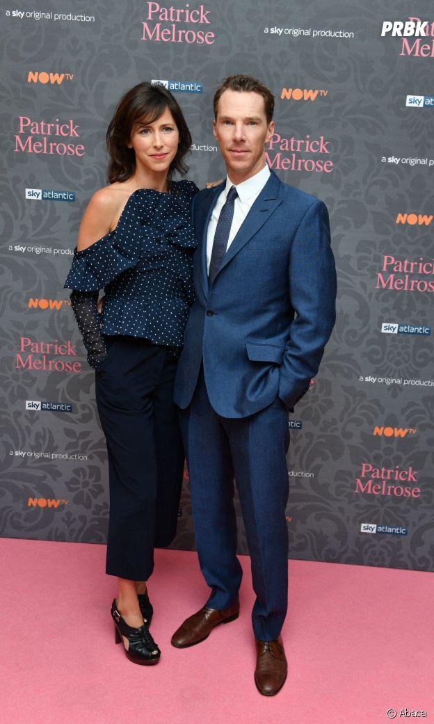 Benedict Cumberbatch et sa femme Sophie Hunter