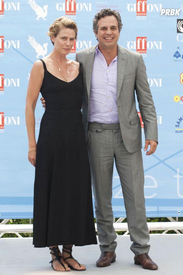 Mark Ruffalo et sa femme Sunrise Coigney